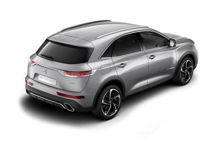 DS Automobiles DS 7 Crossback SUV 5Dr 1.6 E-TENSE PHEV 13.2kWh 225PS Performance Line 5Dr EAT8 [Start Stop] back view