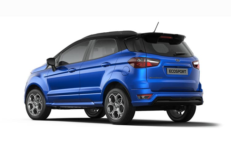 Ford EcoSport SUV 2WD 1.0 T EcoBoost 100PS Zetec 5Dr Manual [Start Stop] [Nav] back view