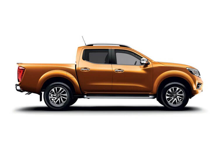 Nissan Navara PickUp DoubleCab 4wdS 2.3 dCi 4WS 190PS N-Guard Pickup Double Cab Manual [Start Stop] back view