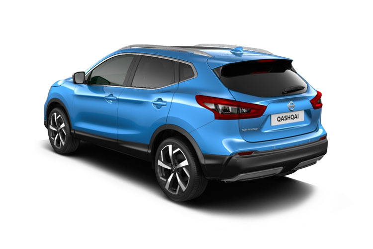 Nissan Qashqai SUV 2wd 1.3 DIG-T 140PS N-Motion 5Dr Manual [Start Stop] back view