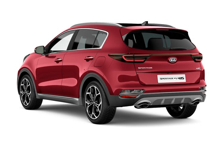 Kia Sportage SUV 2wd 1.6 GDI 130PS 2 5Dr Manual [Start Stop] back view