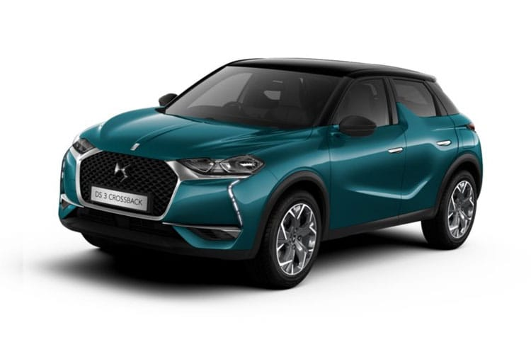 DS Automobiles DS 3 Crossback 5Dr 1.2 PureTech 130PS Ines De La Fressange 5Dr EAT8 [Start Stop] front view
