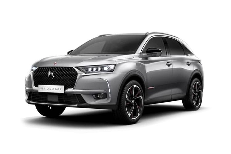 DS Automobiles DS 7 Crossback SUV 5Dr 1.6 E-TENSE PHEV 13.2kWh 225PS Performance Line 5Dr EAT8 [Start Stop] front view