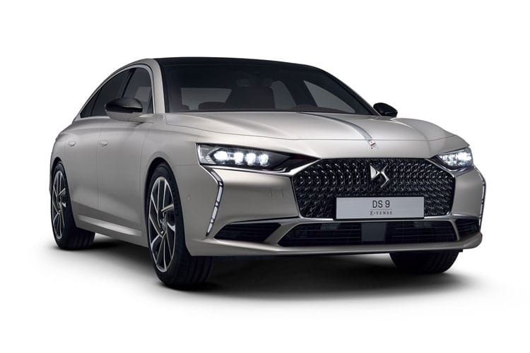 DS Automobiles DS 9 Saloon 4dr 1.6 PureTech 225PS Rivoli + 4Dr EAT8 [Start Stop] front view