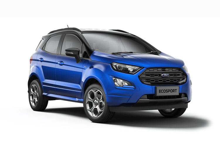 Ford EcoSport SUV 2WD 1.0 T EcoBoost 100PS Zetec 5Dr Manual [Start Stop] [Nav] front view
