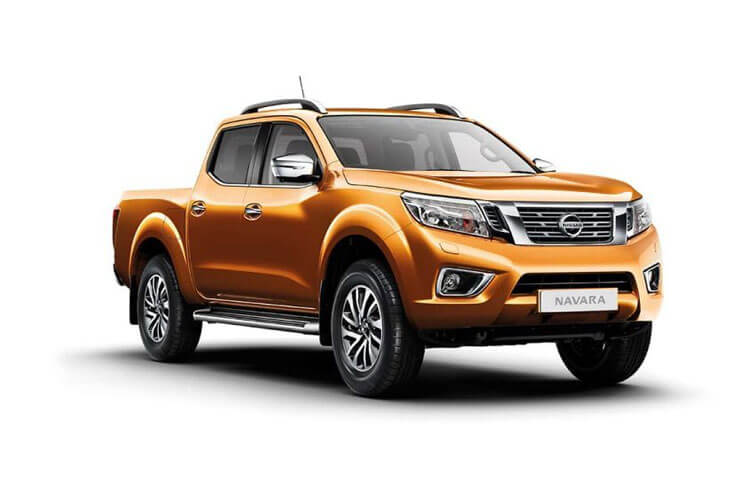 Nissan Navara PickUp DoubleCab 4wdS 2.3 dCi 4WS 190PS N-Guard Pickup Double Cab Manual [Start Stop] front view
