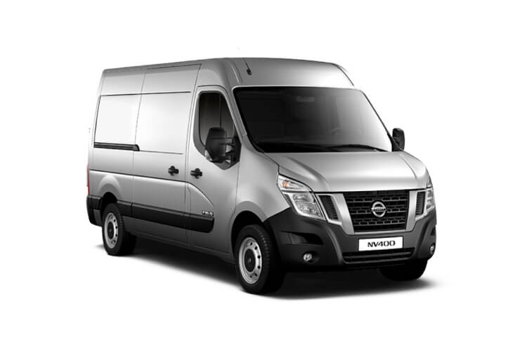 Nissan NV400 L2 33 FWD 2.3 dCi FWD 150PS Acenta Van Medium Roof Manual [Start Stop] front view