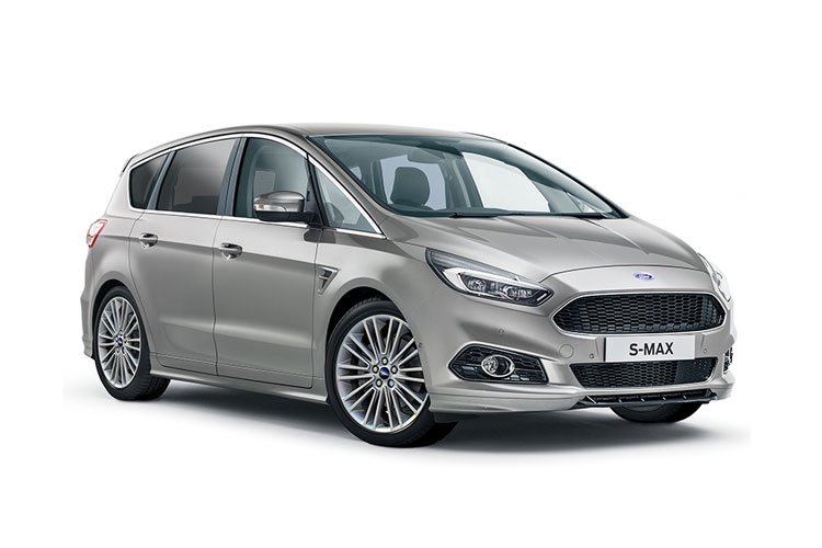 Ford S-MAX MPV 2.5 h Duratec 190PS ST-Line 5Dr CVT [Start Stop] front view