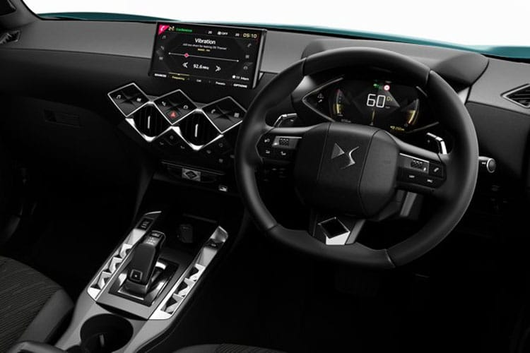 DS Automobiles DS 3 Crossback 5Dr 1.2 PureTech 130PS Ines De La Fressange 5Dr EAT8 [Start Stop] inside view