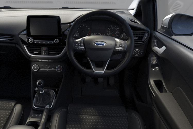 Ford Fiesta Hatch 5Dr 1.0 T EcoBoost 125PS ST-Line X Edition 5Dr Manual [Start Stop] inside view