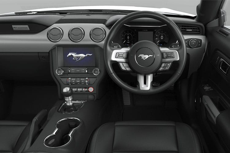 Ford Mustang Convertible 5.0 V8 450PS GT 2Dr SelShift [Custom Pack 4] inside view