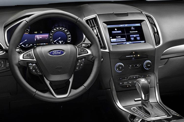 Ford S-MAX MPV 2.5 h Duratec 190PS ST-Line 5Dr CVT [Start Stop] inside view